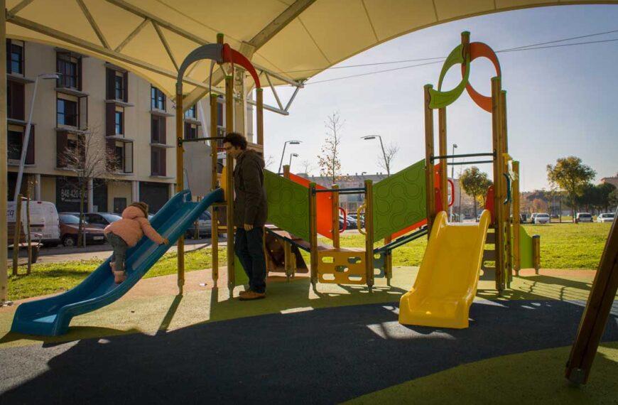 Kinderspielplätze <br>Berriozar 2016