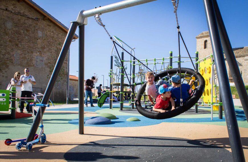 Kinderspielplätze <br>Sarriguren 2017
