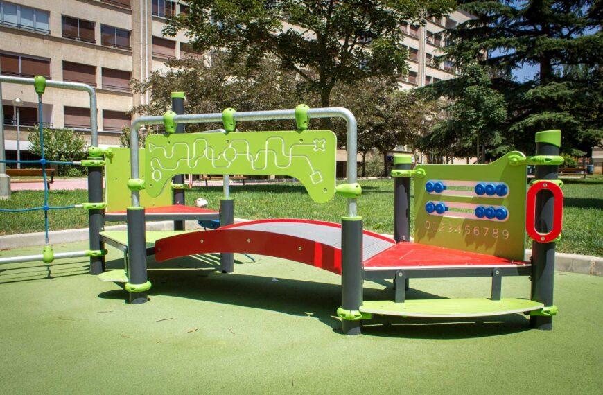 Kinderspielplätze <br>Barañain 2018
