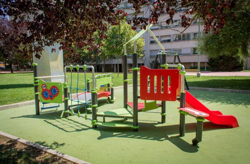 Parque Infantil<br>Barañain 2018