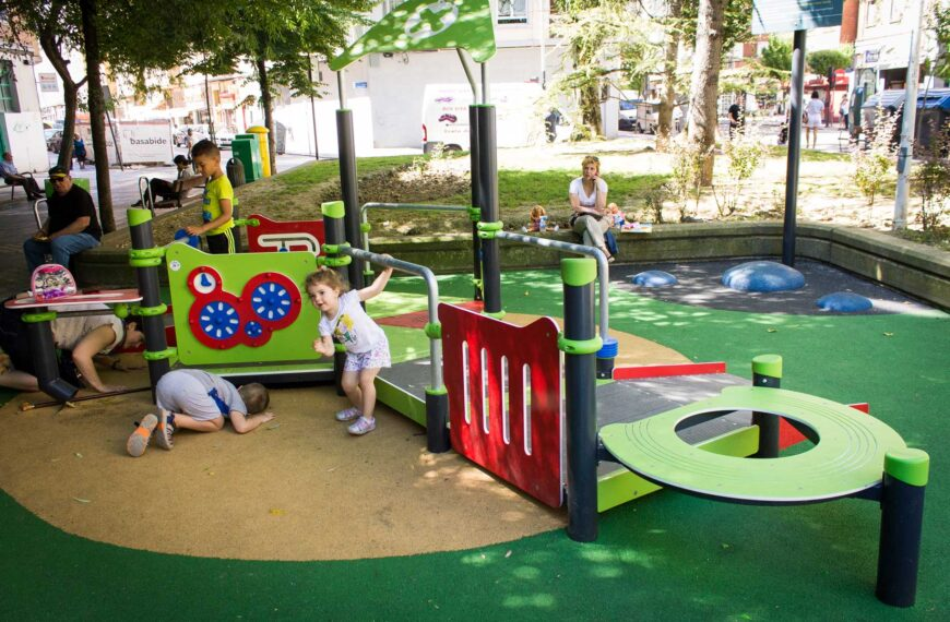Jeux pour enfants <br>Vitoria 2 2018
