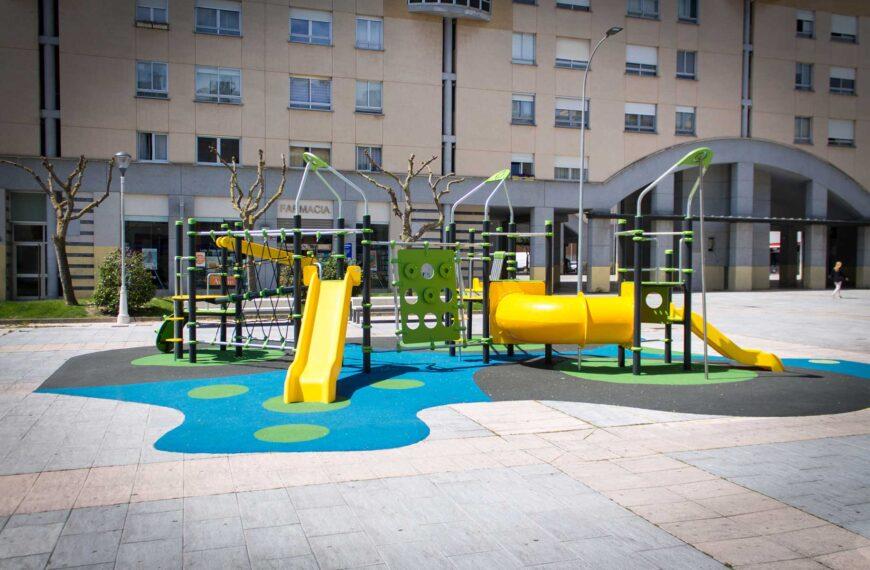 Parque Infantil<br>Zizur 2018